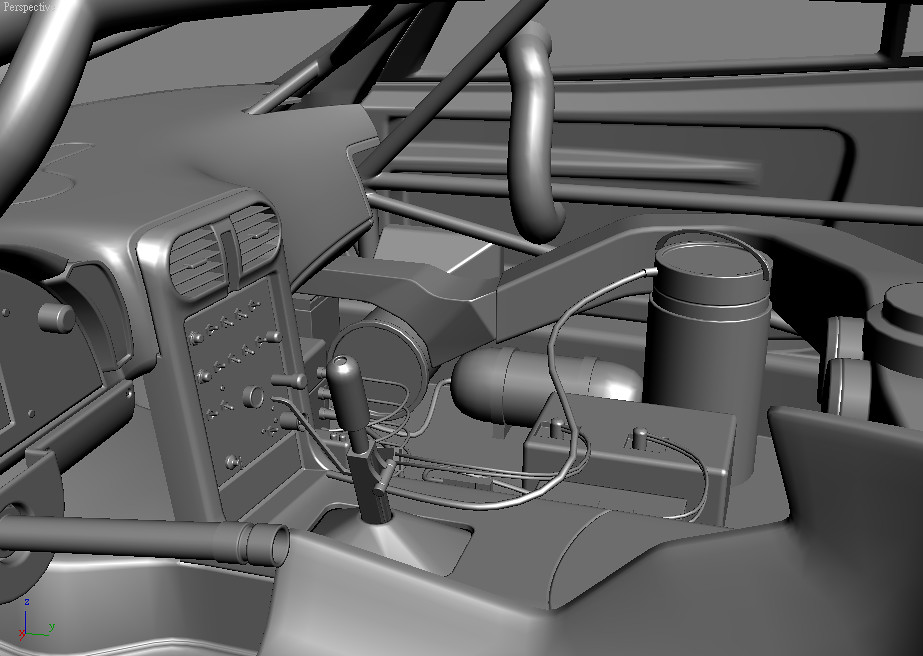 C6R cockpit WIP2