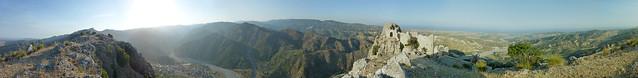 Panorama totale stilaro e castello 2012