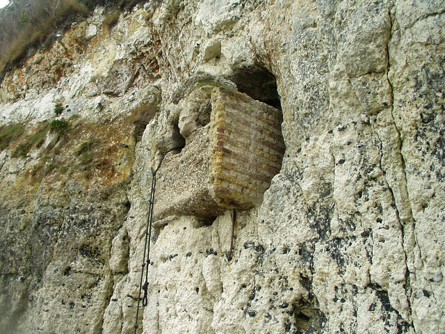 Old gun hole at St Margaret's at Cliffe
