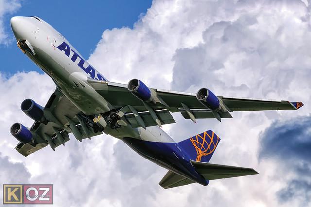 Atlas Air Boeing 747-47UF(SCD) (N497MC)