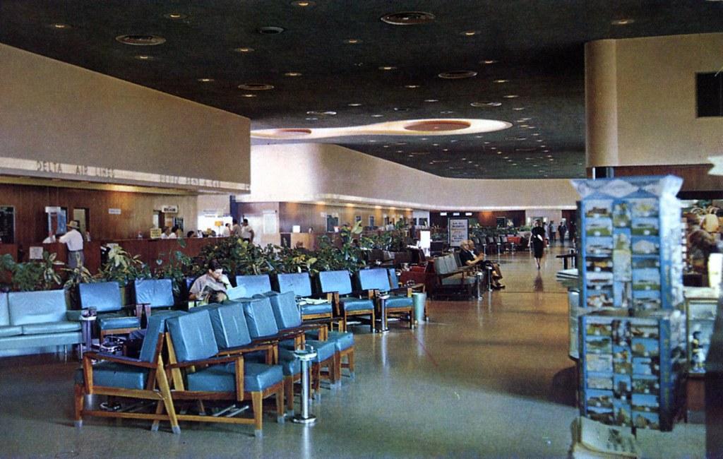 Houston International Airport Interior View Houston TX