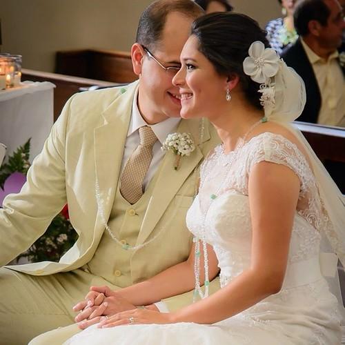 Matrimonio de hondureños radicados en Manhattan