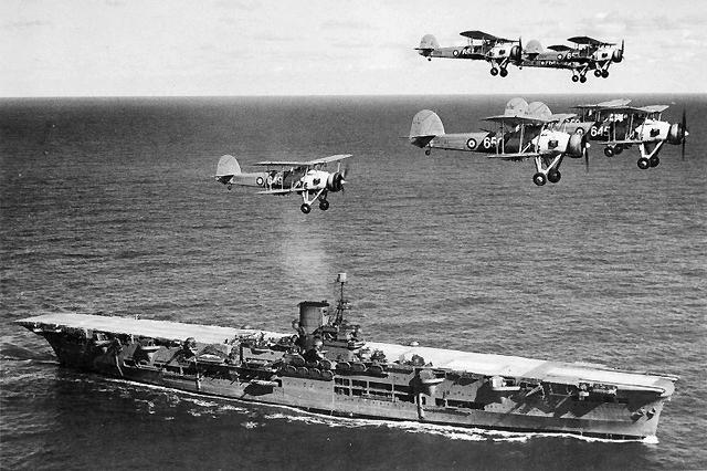 A HMS Ark Royal
