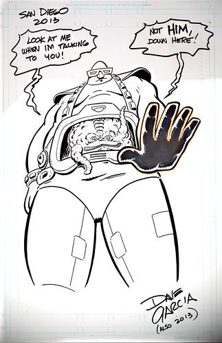 "#TMNT / ""Look at Krang"" ..art by DAVE GARCIA (( 2013 )) by tOkKa"
