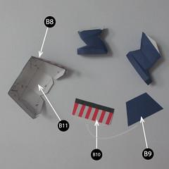 วิธีทำของเล่นโมเดลกระดาษกับตันอเมริกา (Chibi Captain America Papercraft Model) 012
