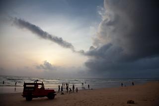 Clouds before Storm, Varca Beach, Goa | by VinothChandar