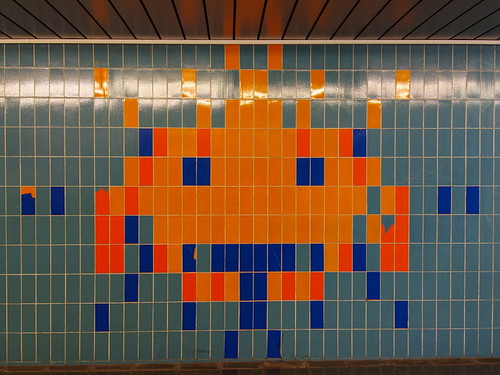 Space Invader - groß | by Ze Clou