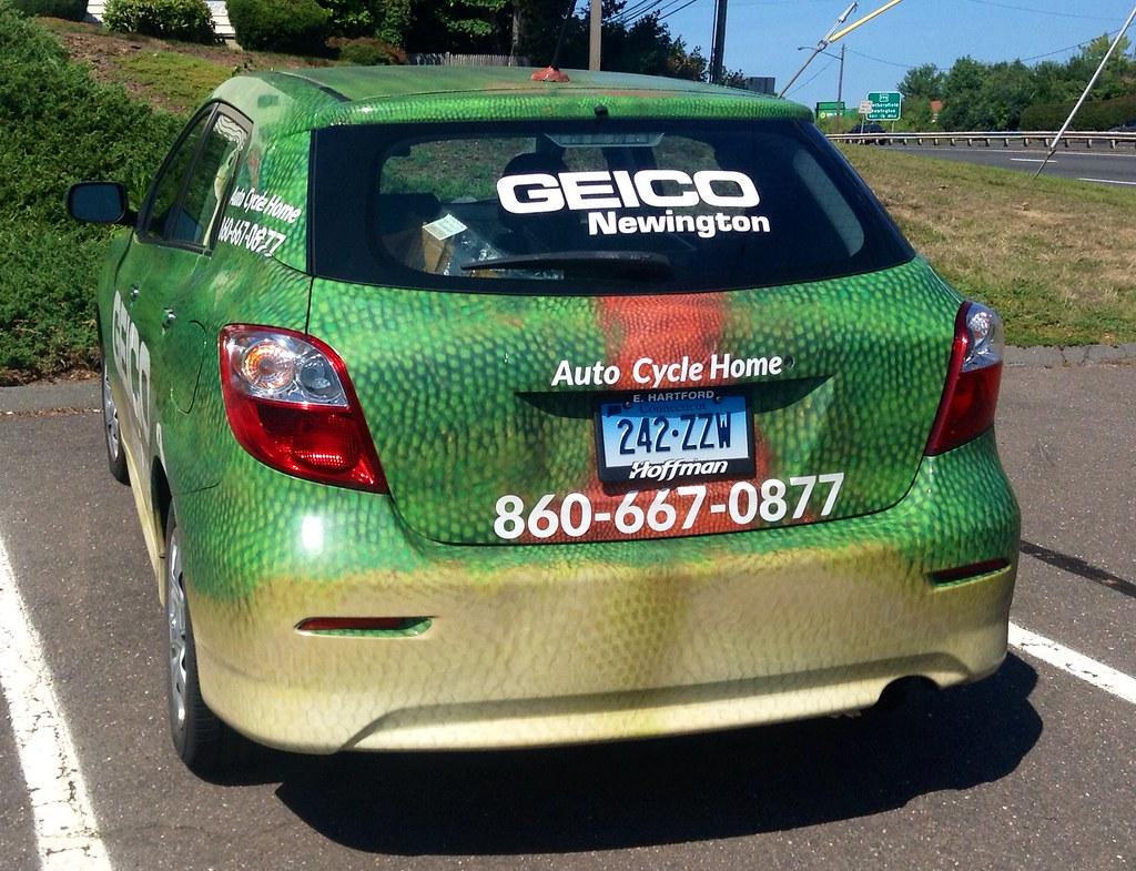 Geico Insurance Gecko Car | Geico Insurance Gecko Car, 8 ...