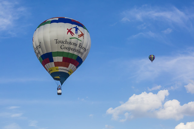 The Touchstone Energy balloon