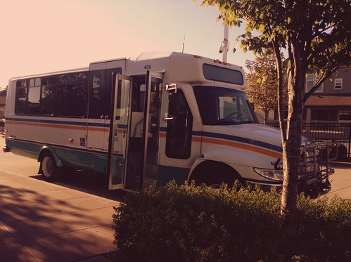 Photo of Island Transit Bus Without A Driver