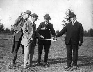 Men on Jefferson Park Golf Course, 1913