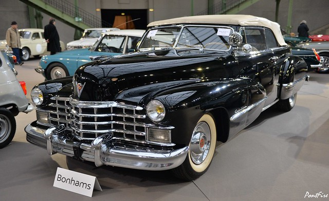 1947 CADILLAC 62S convertible coupe