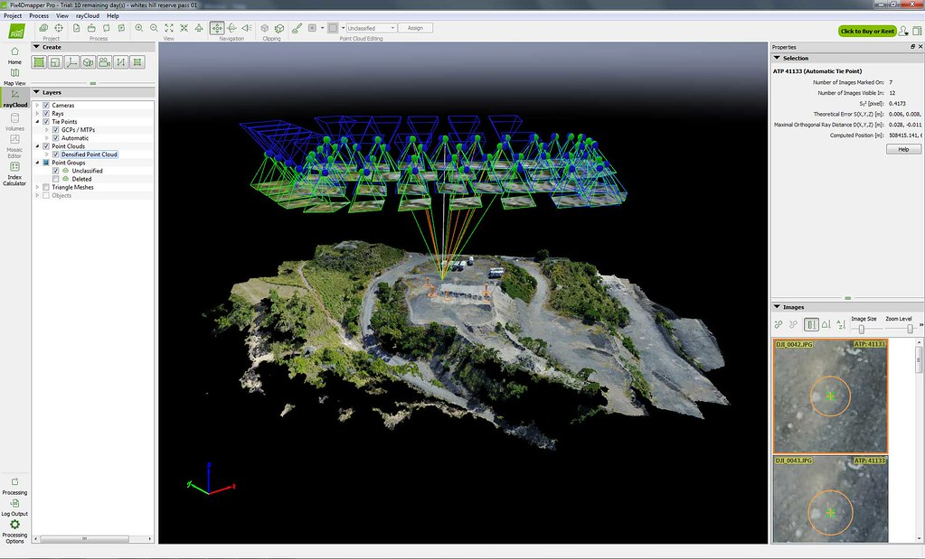 Pix4D point cloud | Pix4D point cloud from drone mapping run… | Flickr