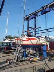 Dehler Sprinta-Sport Eurobokaal 2014 gehouden tijden de jaarlijkse Lenco Regatta op het IJsselmeer nabij Lelystad.