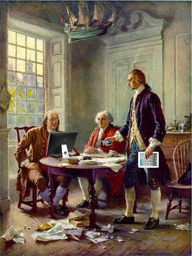 Declaration Drafting Committee, after Jean Leon Gerome Ferris | by Mike Licht, NotionsCapital.com