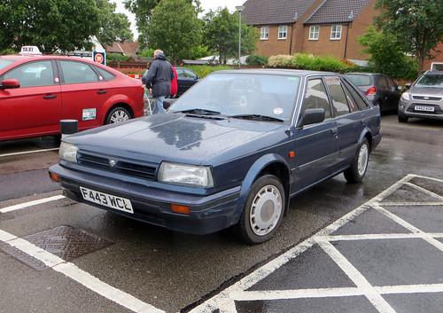 1988 Nissan Bluebird 1.8GS (T72)   by Spottedlaurel