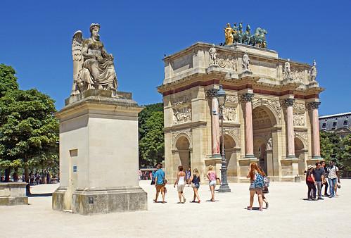 France-000111 - Arc de Triomphe du Carrousel | by archer10 (Dennis)