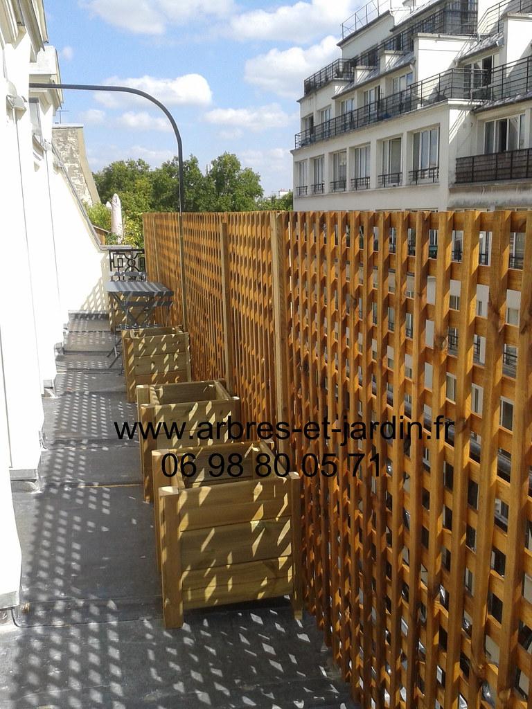 Pare Vue Jardin Bois brise vue panneau et treillis bois livraison et instalatio