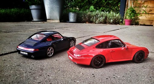 1:18 Porsche 993 4S Indian Red | by www.MODELCARWORKSHOP.nl
