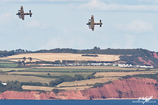 Avro Lancasters PA474 and KB726 - Dawlish Airshow 2014 | by BenSMontgomery