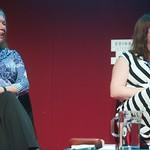 Dilys Rose and Eimear McBride at the Edinburgh International Book Festival |