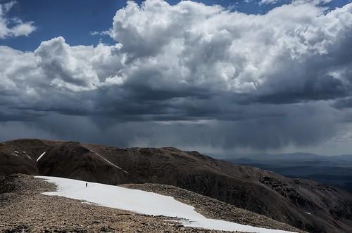snow storm rain weather colorado day hiker fourteener mountdemocrat mtdemocrat gettinghigh2014 mtdemocrattrail