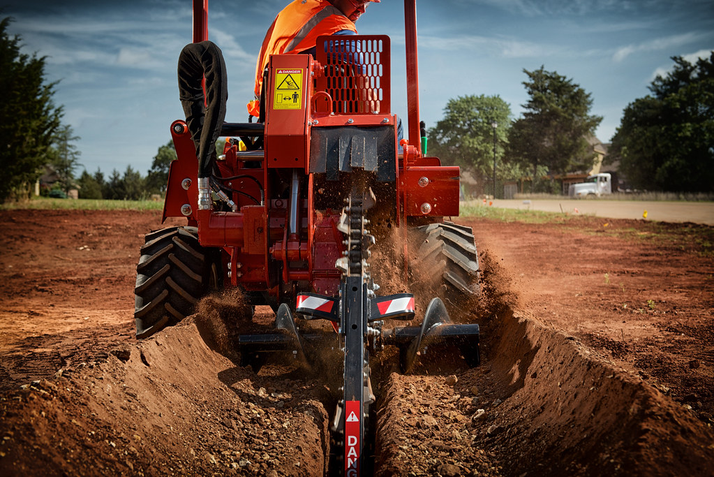 Ditch Witch RT45 Ride-On Trencher | Ditch Witch | Flickr