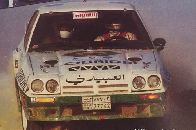 Mubarak Alhajri in Qatar Rally 1988 | Watch