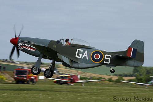 P-51D Mustang - The Shark   by stu norris