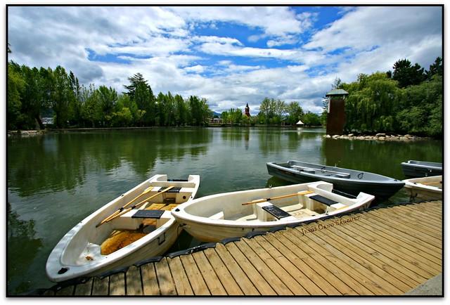 Barques al Parc Schierbeck, Puigcerdà (la Baixa Cerdanya)