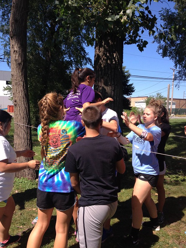 NSLC Mastering Leadership: Team Challenge Course August 3, 2015
