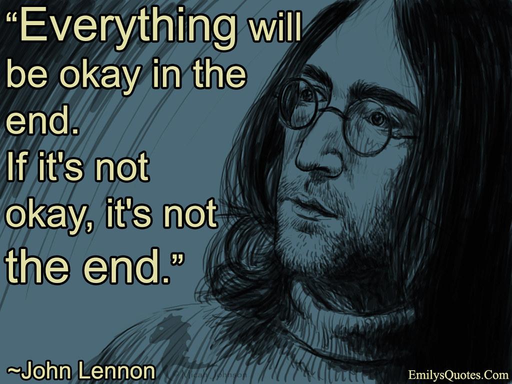 Its Not The End | XXSTORMYXX JOHN LENNON LYRICS Play Music