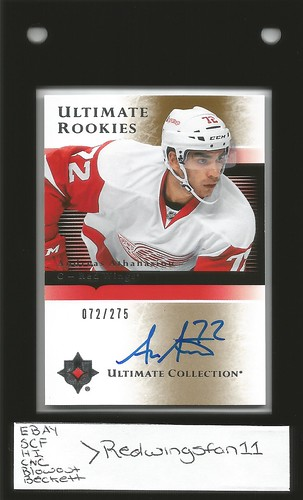 Andreas Athanasiou 15/16 UD Ultimate Retro Auto 72/275 (1) | by Redwingsfan11