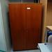 Tall 2 door veneer storage unit E100