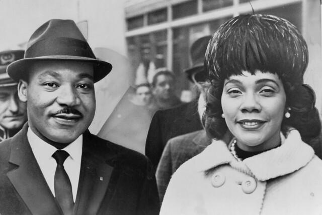 Dr. & Mrs. Martin Luther King Jr.,