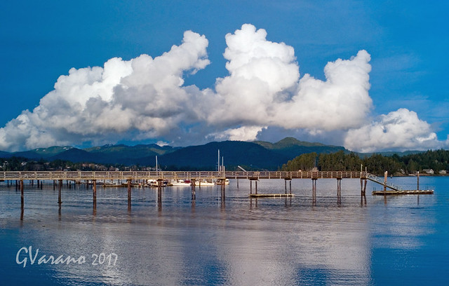 Clouds Over Sooke Basin GVarano 2017 All Rights Reserved