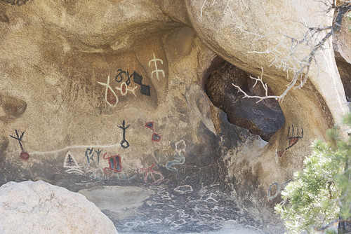 Rock art near Barker Dam | by Joshua Tree National Park