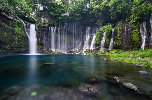 longexposure travel blue trees nature water japan waterfall pond nikon falls tokina filter leslie taylor shizuoka tutorial shiraito neutraldensity 1116mm d7000 lestaylorphoto