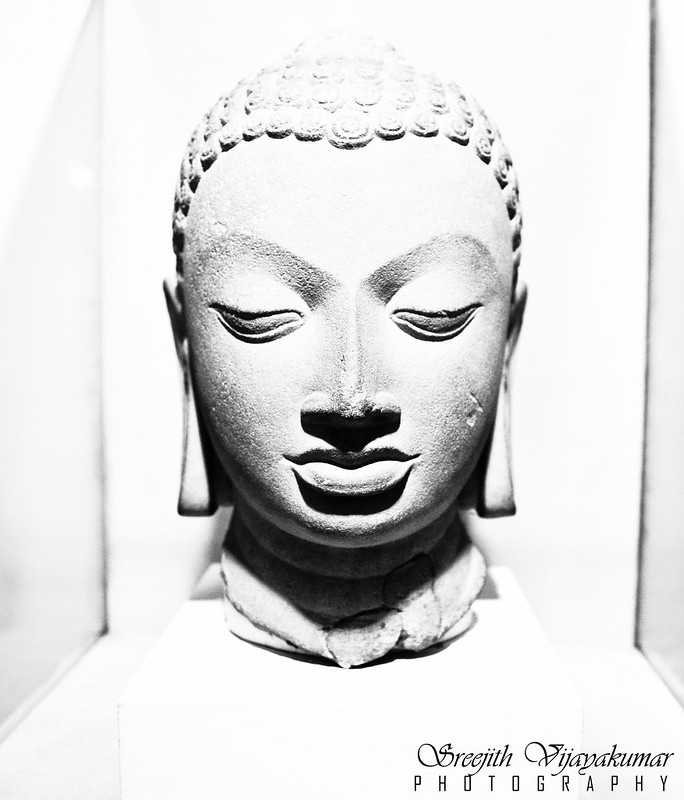 Buddha head, National Museum, New Delhi