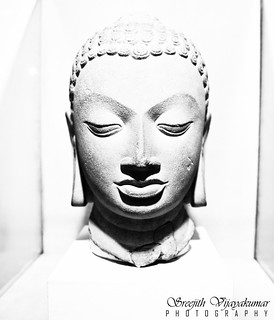 Buddha head, National Museum, New Delhi   by Sreejith Vijayakumar