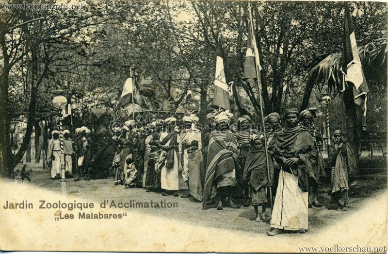 1902 Jardin Zoologique D Acclimatation Les Malabares Flickr