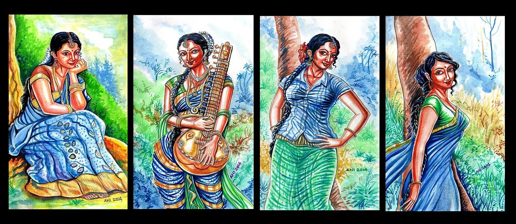 Watercolour Painting - Indian Artist Anikartick,Chennai,Tamil Nadu,India