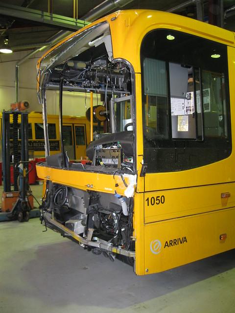 ARRIVA 2009 Volvo B7RLE 1050 accident repairs 7.1.2010 2/5