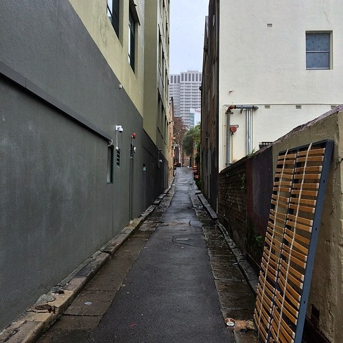 Surry Hills lanes in the rain 2   by TenguTech