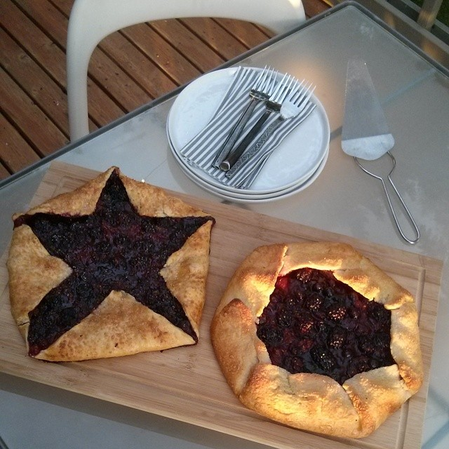 I've been wanting to try the Star-Shaped Galette ever since I saw it on the 4th of July.
