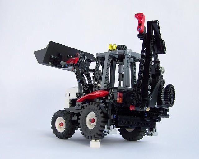 Backhoe Technic 02