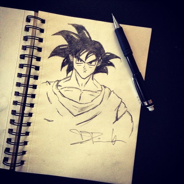 One of the most addictive shows in the 90s! #Goku #mychara