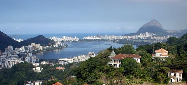 Rio de Janeiro.. Humaitá e Lagoa. Rio de Janeiro. Brasil.