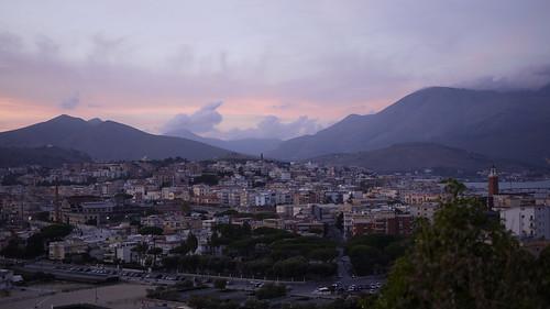 View of Gaeta town