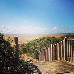 Where I sit #tranquil #lythamstannes #beach